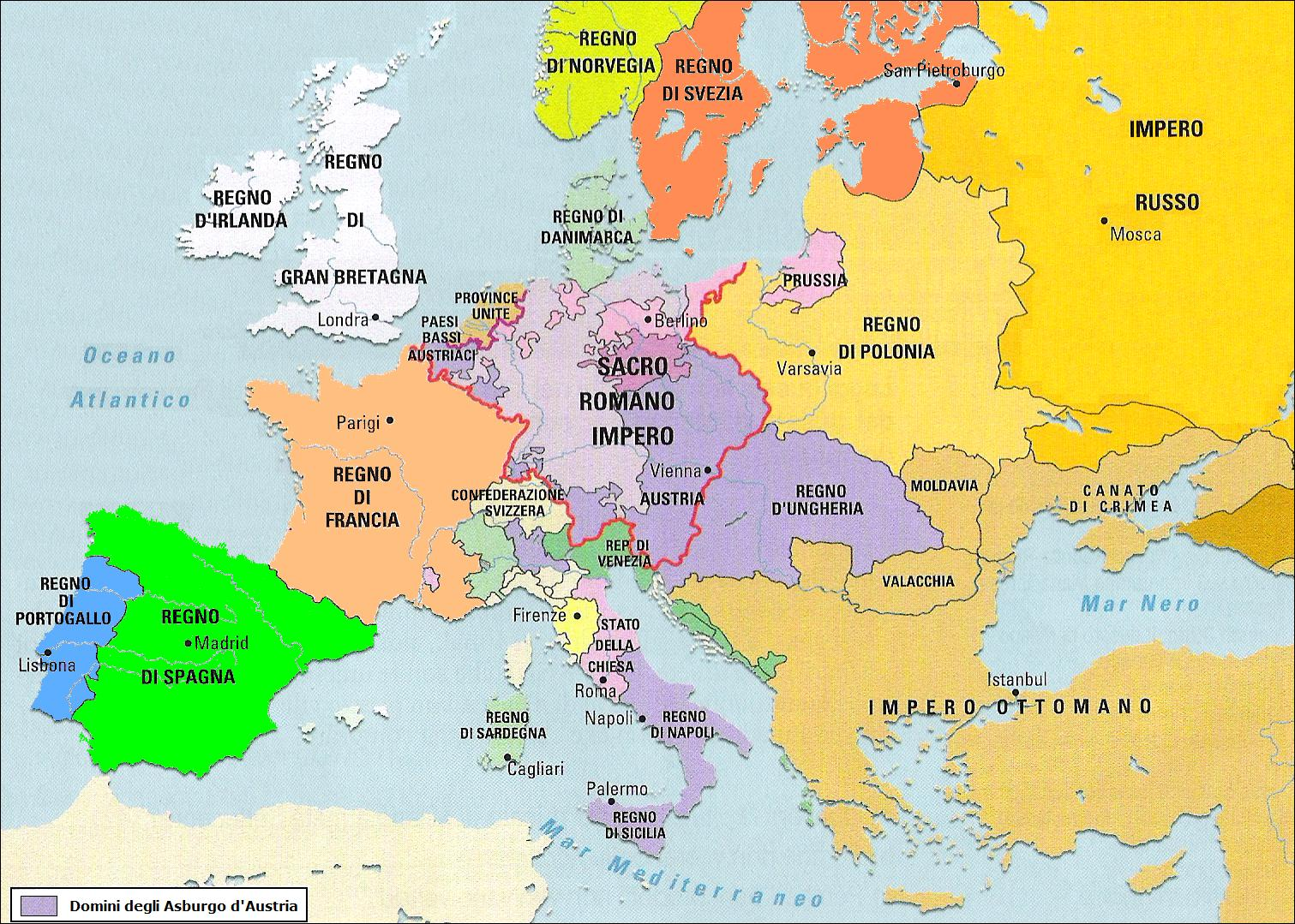 Cartina Europa 1700.La Nascita Dell Aquila Nera La Prussia Di Federico Il Grande Alberto Massaiu