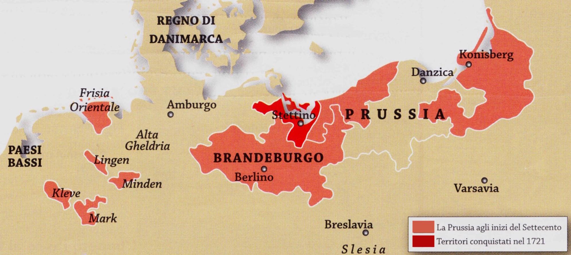 Risultati immagini per ducato di brandeburgo prussia
