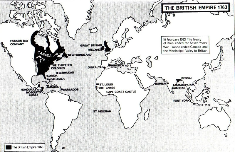 The-British-Empire-1763