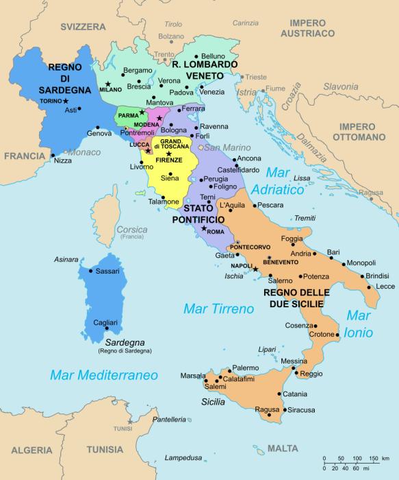 Italia primo XIX secolo