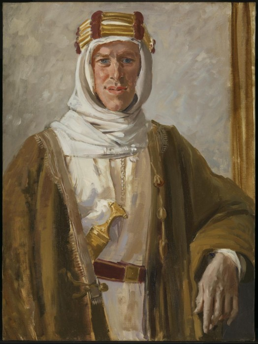 Colonel T.E. Lawrence 1919 by Augustus John OM 1878-1961