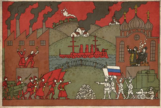 La Credenza Arthur Rimbaud Parafrasi : Pedagogica: la guerra civile russa tra bianchi e rossi